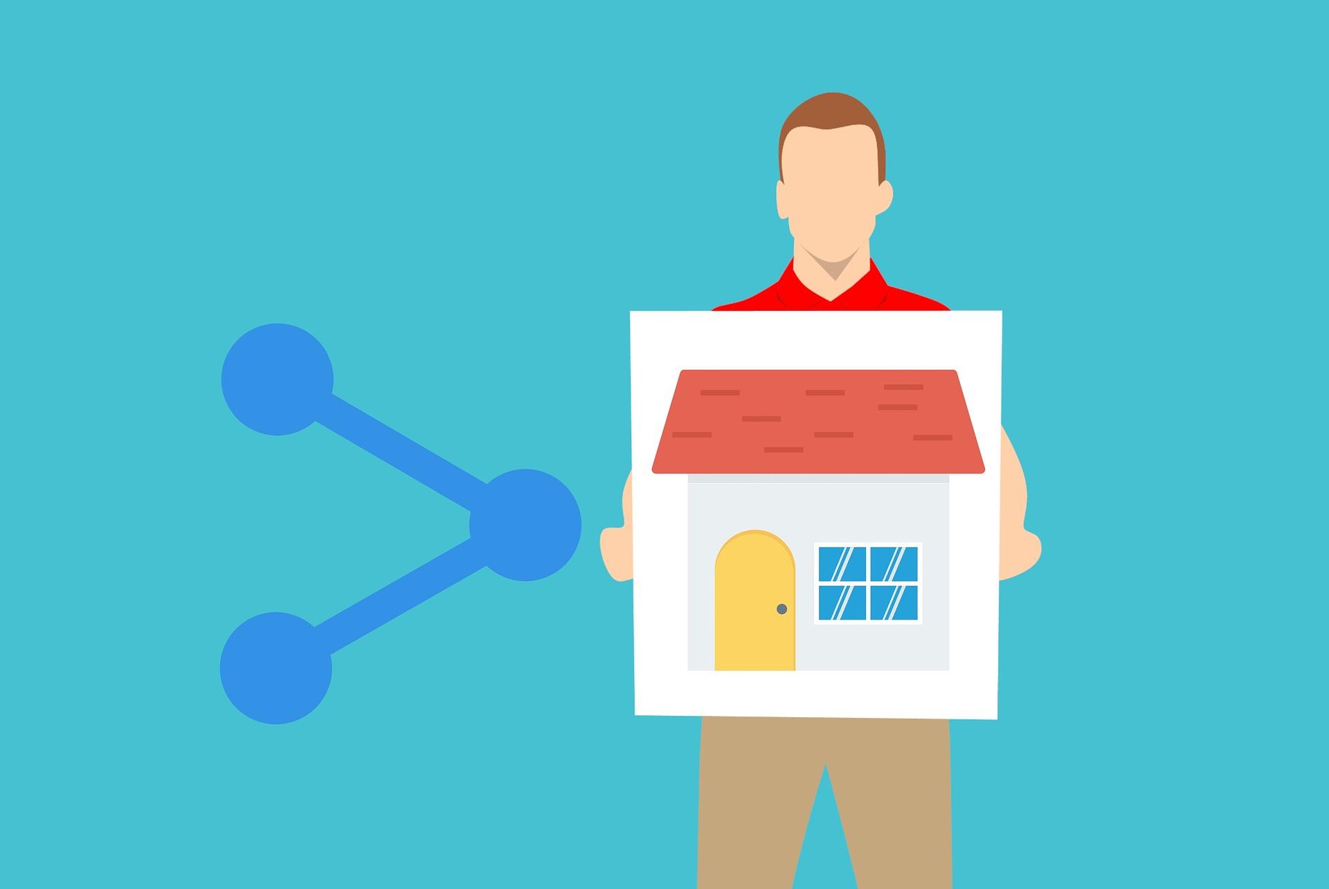 icone maison à vendre